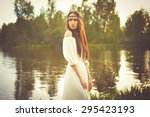 outdoors fashion  photo of... | Shutterstock . vector #295423193