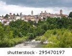 Small photo of Molare (Alessandria, Piedmont, Italy): the historic town in Monferrato and the Orba creek