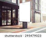 3d rendering of lightbox mockup | Shutterstock . vector #295479023