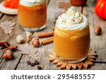 Ice Honey Pumpkin Spice Latte...