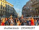 krakow  poland   jul 11  2015 ... | Shutterstock . vector #295490297