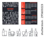 vector illustration of drinks...   Shutterstock .eps vector #295603223