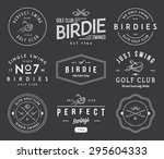 golf badges and labels for any... | Shutterstock .eps vector #295604333