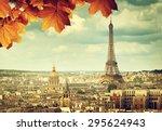 autumn leaves in paris and...