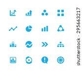 diagram icons universal set for ... | Shutterstock .eps vector #295663217