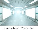 Bright Underpass With Blank...