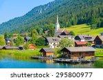 View Of Alpine Village On Shor...