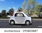 autonomous self driving... | Shutterstock . vector #295803887
