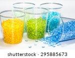Transparent Dyed Plastic Resin...