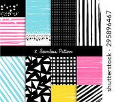 seamless patterns for... | Shutterstock .eps vector #295896467