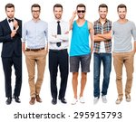 looking perfect in any style.... | Shutterstock . vector #295915793