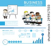 modern business infographic | Shutterstock .eps vector #295917533
