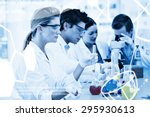 science graphic against science ... | Shutterstock . vector #295930613