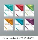 set brochure  template design ...   Shutterstock .eps vector #295958993