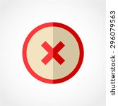 check mark icon isolated on... | Shutterstock .eps vector #296079563