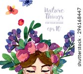 A Vector Floral Collection Of...