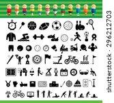 basic vector sports icon set