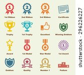 Award Elements  Vector...