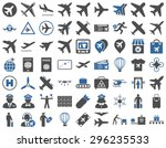 Aviation Icon Set. These Flat...