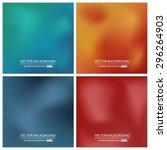 abstract creative concept... | Shutterstock .eps vector #296264903
