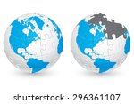 jigsaw puzzle globe with...