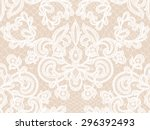 Seamless White Lace Background...