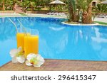 Orange Juice On The Swimming...