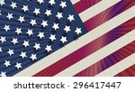 represent united state of... | Shutterstock .eps vector #296417447