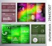infographics  brochures and... | Shutterstock .eps vector #296437307