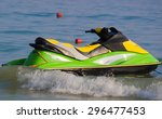 Jetski On The Beach In See....