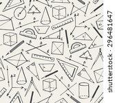 School Background. Doodle Styl...