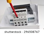 Electrical Cabinet With Four...