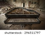 Close Up Of An Old Piano...