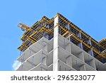 building construction site work ...   Shutterstock . vector #296523077