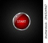 start button on carbon fiber...