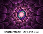 Fractal Tunnel Purple Fantasy...