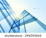 Abstract Building From The...