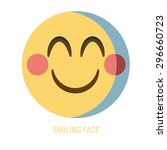 set of smiley icons  different...   Shutterstock .eps vector #296660723