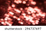 abstract blurred red background.... | Shutterstock . vector #296737697