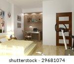 modern interior | Shutterstock . vector #29681074