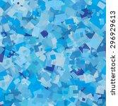 texture of blue cellophane | Shutterstock .eps vector #296929613
