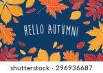 Hello Autumn  Hand Drawn...