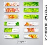 business design templates. set... | Shutterstock .eps vector #296938133
