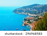 Cote D'azur France.  View Of...