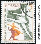 poland   circa 1985  a stamp...   Shutterstock . vector #296988197