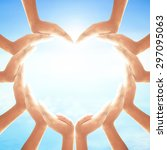 world spiritual health day... | Shutterstock . vector #297095063