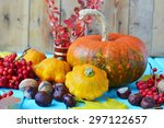 Autumn Still Life   Pumpkins ...
