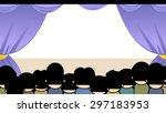 cartoon illustration of a...   Shutterstock .eps vector #297183953
