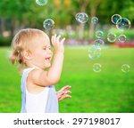 Happy Child Having Fun In The...