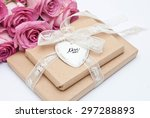 gift and flowers | Shutterstock . vector #297288893